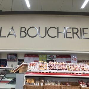 La Boucherie lettres